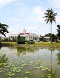 Präsidentenpalast in Bogor, Indonesien lizenzfreie stockfotos