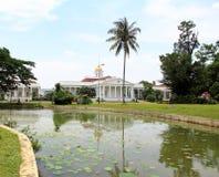 Präsidentenpalast in Bogor, Indonesien stockbild