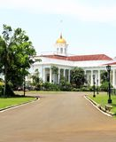 Präsidentenpalast in Bogor, Indonesien lizenzfreies stockfoto