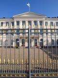 Präsidentenpalast in Helsinki Stockfoto