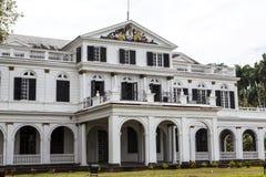 Präsidentenpalast in Paramaribo, Surinam lizenzfreie stockbilder
