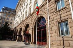 Präsidentenpalast Präsidentenpalast in Vilnius Litauen Juli genommen Sofia ist die Haupt- und größte Stadt von BU Lizenzfreie Stockfotografie