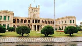 Präsidentenpalast von AsunciÃ-³ n, Paraguay stock footage