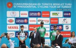 51. Präsidentenradtour von der Türkei Lizenzfreie Stockbilder