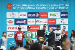 51. Präsidentenradtour von der Türkei Lizenzfreie Stockfotos