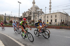 51. Präsidentenradtour von der Türkei Stockfotografie