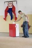 Präsidentenwahl in Polen Stockbilder