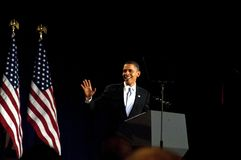 Präsidentenwelle stockfotografie