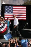 Präsidentschaftsanwärter Barack Obama Stockbilder