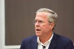 Präsidentschaftsanwärter Jeb Bush Stockfotos