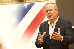 Präsidentschaftsanwärter Jeb Bush Lizenzfreie Stockbilder