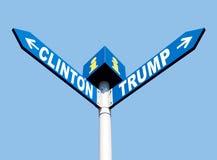 Präsidentschaftswahlen in den US Lizenzfreie Stockbilder
