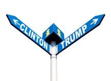 Präsidentschaftswahlen in den US Stockfoto