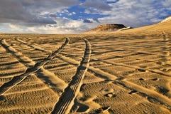 Près de l'oasis de Siwa Photo libre de droits