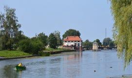 Près de la rivière Photo stock