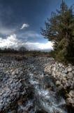 Près de Ski Road, Bansko Images libres de droits