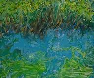 Pré de jacinthe des bois Images libres de droits
