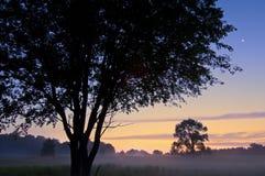 Pré de Sabo d'Al de lever de soleil photo libre de droits