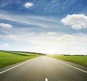 Pré et speed-way image libre de droits