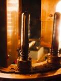 Pré-forma plástica antes da fornalha do aquecimento Imagem de Stock Royalty Free