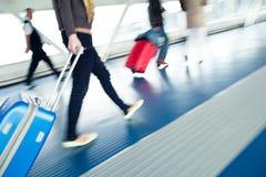 Précipitation d'aéroport Photos libres de droits