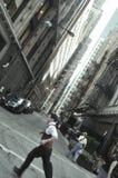 Précipitation de Chicago Images libres de droits