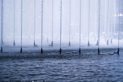 Précipitation de l'eau photo stock