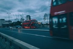 Précipitation de Londres image stock