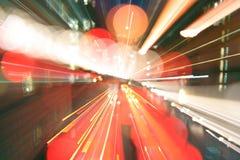 Précipitation de lumière de Londres Photographie stock