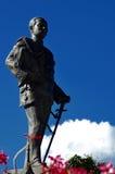 Précipitation 5 de statue Photos libres de droits