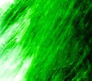 Précipitation de vert Image stock
