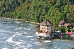 Précipitations de rivière de Shaffhuzen image stock