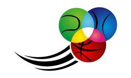 Précision de boule de sport Image libre de droits