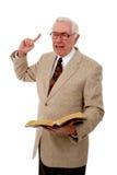 Prédicateur passionné Image libre de droits