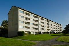 Prédio de apartamentos Fotografia de Stock Royalty Free