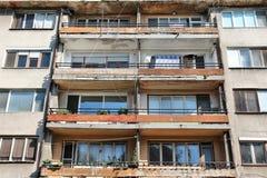 Prédio de apartamentos deficiente Foto de Stock Royalty Free