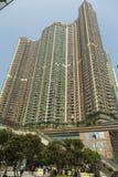 Prédio de apartamentos em Hong Kong Foto de Stock Royalty Free