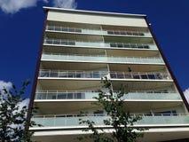 Prédio de apartamentos em Hornstull, Éstocolmo, Suécia Imagens de Stock Royalty Free