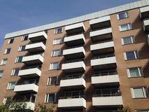 Prédio de apartamentos em Sodermalm, Éstocolmo, Suécia Imagem de Stock Royalty Free