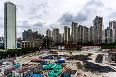 Prédio de apartamentos Highrise 20 de Shanghai imagens de stock royalty free