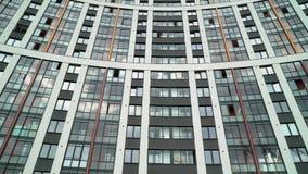 Prédio de apartamentos luxuoso moderno video estoque
