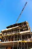 Prédio de apartamentos sob a construção Imagem de Stock