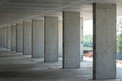 Prédio de apartamentos sob a construção Fotografia de Stock