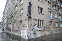 Prédio de apartamentos vienense Fotos de Stock