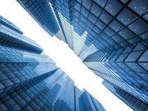 Prédio de escritórios com Windows de vidro Imagem de Stock Royalty Free