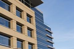 Prédio de escritórios contemporâneo com fachada de pedra Fotografia de Stock