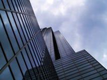Prédio de escritórios corporativo alto Fotos de Stock