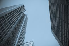 Prédio de escritórios da cidade Imagem de Stock Royalty Free