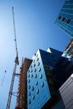 Prédio de escritórios da construção Imagem de Stock Royalty Free
