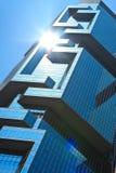 Prédio de escritórios de Hong Hong Imagem de Stock Royalty Free